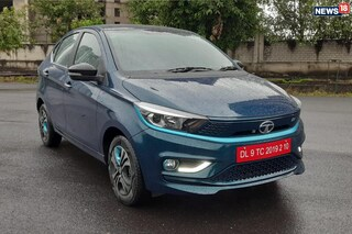 The new Tata Tigor EV has recently been launched in India. (Image: Arjit Garg/News18.com)